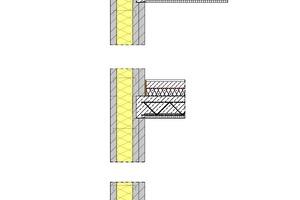 Fassadenschnitt, Maßstab 1:20<br /><br />