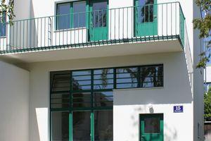 Die nach Plänen der Architekten Adolf Loos und Heinrich Kulka zu Beginn der 1930er Jahre errichteten Doppelhaushälften der Wiener Werkbundsiedlung wurden jetzt saniert und restauriert<br />