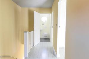 Flur und Treppe (links im Bild) im Obergeschoss<br />