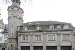 Die ehemalige Feuerwache in Recklinghausen vor ...