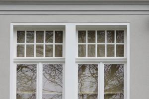 Saniertes Fenster, Detailansicht