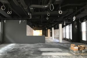 Das Erdgeschoss des Adina Hotels Nürnberg vor Einbau des Sushi-Restaurants