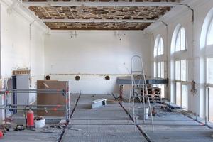 Mit der Sanierung und dem Umbau der zuvor als Bauinspektorat genutzten Realschule in der Baseler Rittergasse wird dem Gebäude seine ursprüngliche Funktion zurückgegeben<br />