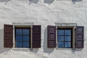 Die Fassaden des Hauses erhielten eine denkmalgerechte neue Beschichtung