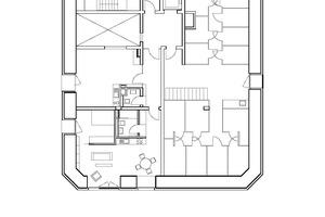 Grundriss 1. Obergeschoss, Maßstab 1:250