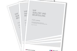 """Die neue FVHF-Leitlinie """"Beurteilungsmethodik und Toleranzen von vorgehängten hinterlüfteten Fassaden (VHF)"""" ist ein praxisorientierter Handlungsleitfaden."""