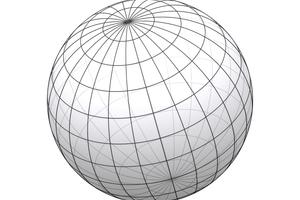 Die Kugel wurde aus 24 Scheibenschnitten mit der 3D-Konstruktions-Software Space Claim entworfenZeichnung: Holz in Form Niedermeier
