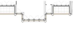 Grundriss Fassade, Maßstab 1:50