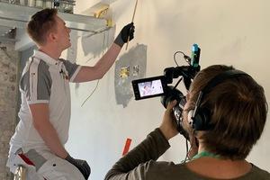 Brillux holt bekannte Influencer mit ins Boot, die für eine Ausbildung als Maler und Stuckateur werben.