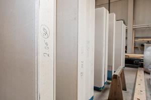 Schlanke Lösung für starke Wände: Fermacell<sup>-</sup>Gipsfaser-Platten können eine Alternative zu Holz sein.
