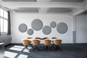 Die Wande-Paneele gibt es in verschiedenen Formen und Farben.