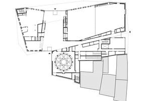 Grundriss Erdgeschoss, Maßstab 1:500