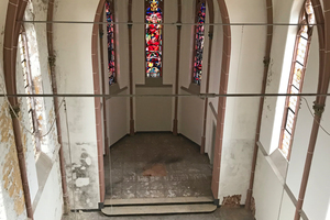 Die Klosterkapelle von innen