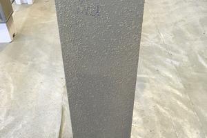 """Voraussetzung für die brandschutztechnische Wirksamkeit von """"maxit ip 160"""" ist eine ausreichende Haftung, die sich mit einer Haftbrücke von mindestens 1 mm Dicke herstellen lässt"""