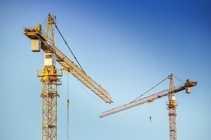 Im Jahr 2020 haben deutsche Baufirmen Auftragseingänge aus dem Ausland in Höhe von 26,2 Mrd. Euro verbucht.