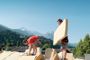 Die Firma Steico hat auf die stark steigende Nachfrage nach Holzprodukten und Dämmstoffen mit einer erhöhten Produktion von Holzfaserdämmstoffen reagiert