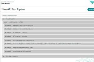 """Wird ein Bauprojekt per Ausschreibung vergeben, trägt der Nutzer alle Informationen ein<span class=""""bildnachweis"""">Fotos: inpera</span>"""