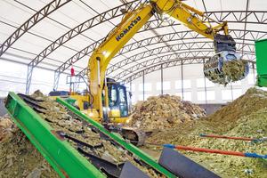 Bei der Herstellung des Steinwolle-Dämmstoffs werden 96 Prozent der Steinwollreste wiederverwertet