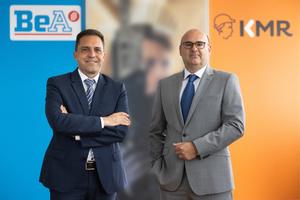 Die Geschäftsführung der neuen BeA GmbH: Dr. Jörg Dalhöfer (links) und Stephan Kreft (rechts).