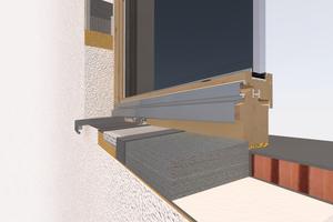 """Das Anschlusssystem """"weber.therm SOL-PAD"""" erhöht die Sicherheit der Konstruktion durch eine zweite Dichtebene"""