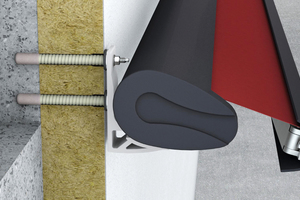 """Mit speziellen Montagewinkeln wie dem """"weber.therm Iso-Corner"""" lassen sich Geländer stabil und unsichtbar befestigen"""