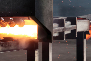Die von Mocopinus betriebene Beflammungsanlage ermöglicht eine exakte Steuerung des Verbrennungsvorgangs