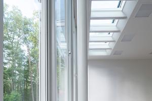 Um den Anforderungen des Denkmalschutzes gerecht zu werden und die Räume der Akademie besser zu dämmen, kam der Warme Kante-Abstandhalter Swisspacer Ultimate zum Einsatz
