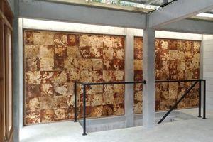 Wandverkleidung aus Plattenwerkstoff auf Basis des Pilzmaterials im Batam Housing Project in Indonesien