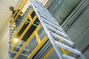 Mit ihrer Marke Munk Günzburger Steigtechnik zählt die Munk Group zu den führenden Anbietern von Steigtechniklösungen.