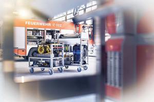 Im Geschäftsbereich Rettungstechnik bietet die Munk Group Steigtechnik und Transportlogistik für den Brand-, Rettungs- und Katastropheneinsatz an.