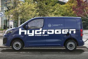"""Die Wasserstofftanks des """"Citroen e-Jumpy"""" Hydrogen lassen sich in nur drei Minuten auffüllen"""