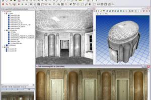 """Darstellung der 3D-Laser-Scans als 3D-Modelle im Programm """"luposcan"""""""
