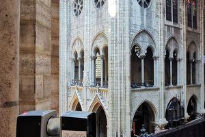 """3D-Messungen mit dem 3D """"Focus""""-Laser-Scanner von Faro in der Kathedrale Notre-Dame de Paris"""