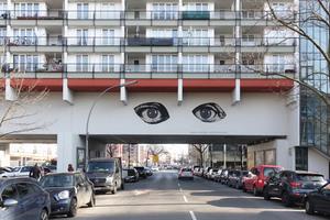 Picassos Augen fixieren den Betrachter seit 2016 an der Pallasstraße in Berlin-Schöneberg