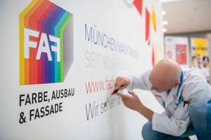 """Die Messe """"Farbe, Ausbau & Fassade"""" wird auf das Jahr 2023 verschoben."""