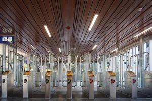 An Bahnhöfen ist eine gute Akustik besonders wichtig, wie hier am Bahnhof Alexander Rotterdam.