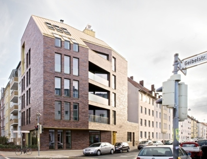 Klinker Solitar Neubau Des Restaurants Zauberlehrling In Hannover