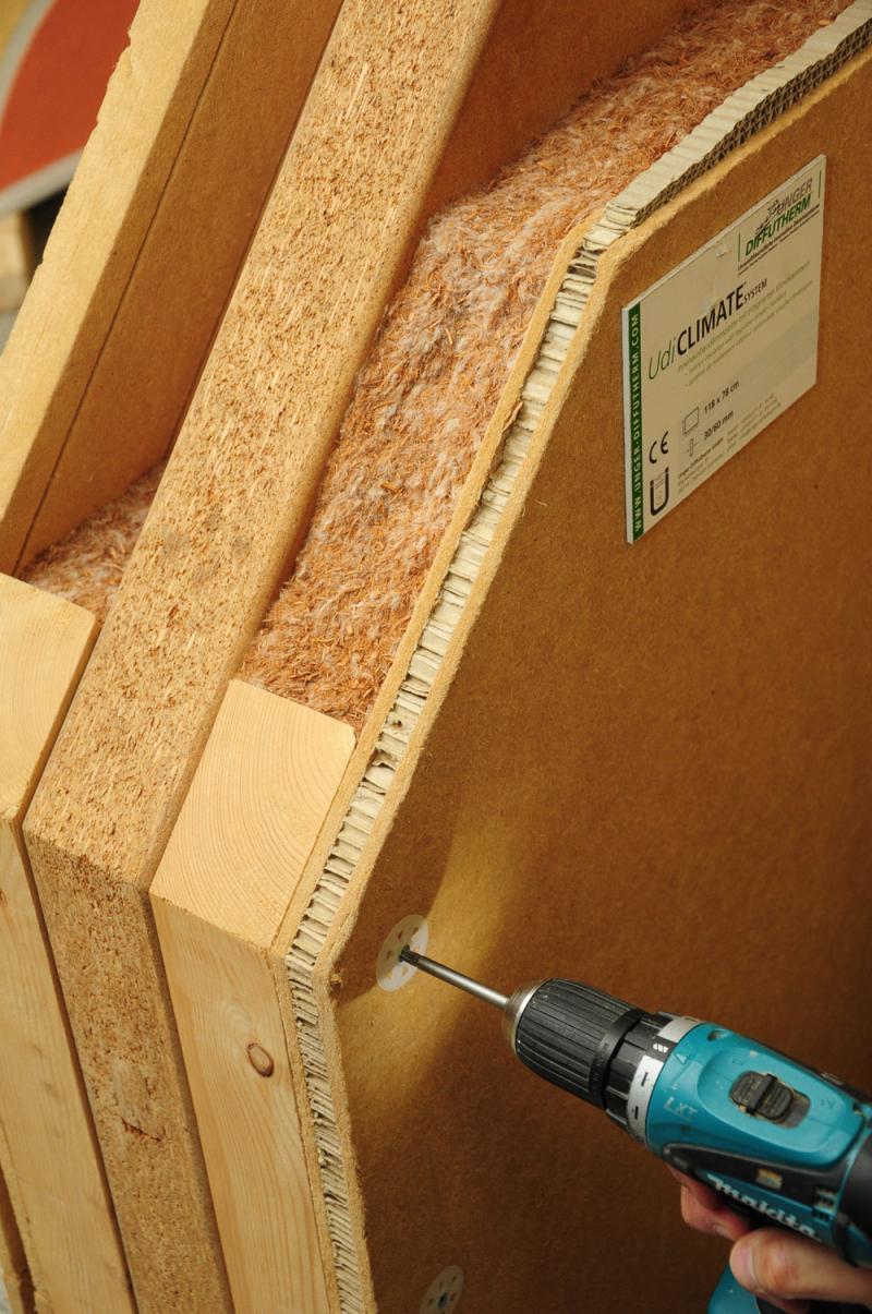 Trockenbau Mit Holzfaserplatten Bauhandwerk