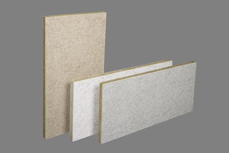 Abwaschbare Holzwolle-Dämmplatten - Bauhandwerk