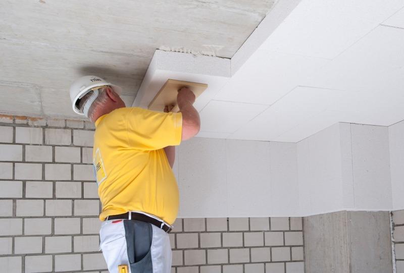 Kellerdeckend Mmung Mit Mineralplatten Bauhandwerk