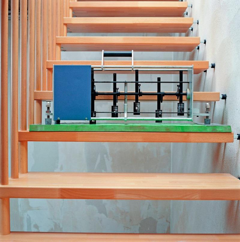 entkoppelt schallschutz bei leichten treppenkonstruktionen bauhandwerk. Black Bedroom Furniture Sets. Home Design Ideas