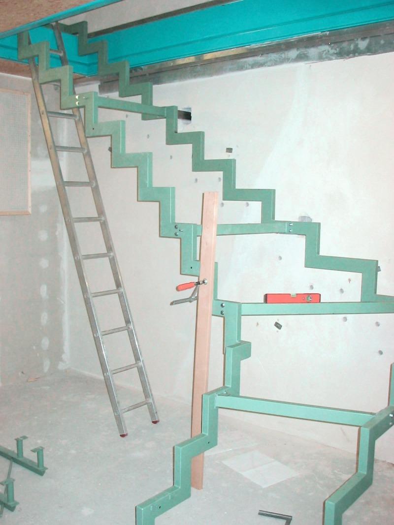 entkoppelt? schallschutz bei leichten treppenkonstruktionen
