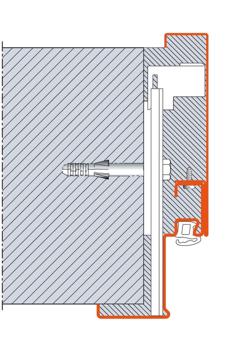 wunderbar befestigungs t rzarge fotos benutzerdefinierte bilderrahmen ideen. Black Bedroom Furniture Sets. Home Design Ideas
