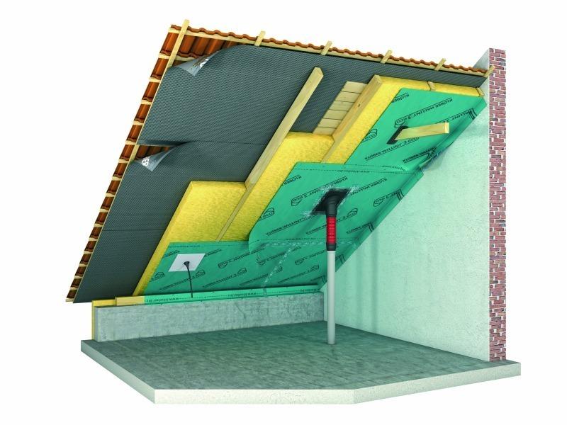 Luftdicht Kleben Unterm Dach Bauhandwerk