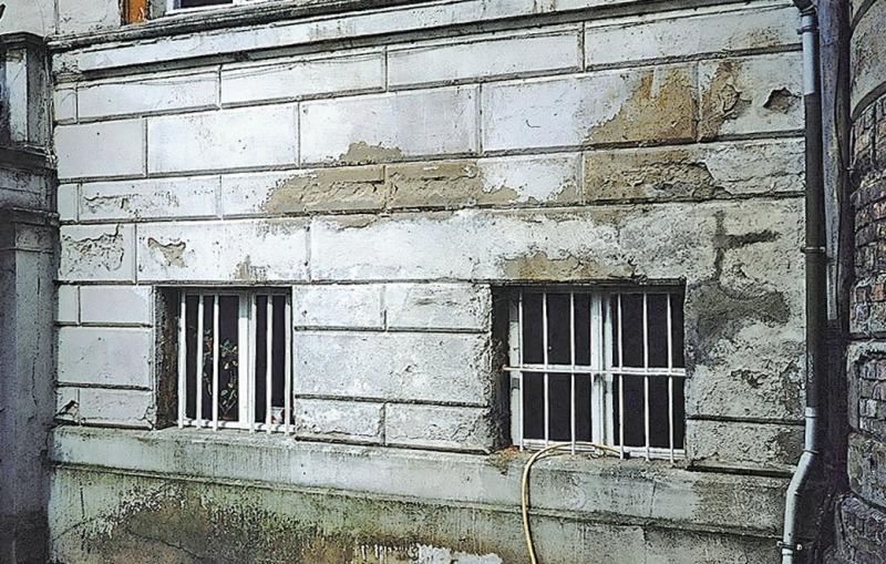 Wasser und Salz Typische Bauschäden an Außenwänden aus Mauerwerk ...