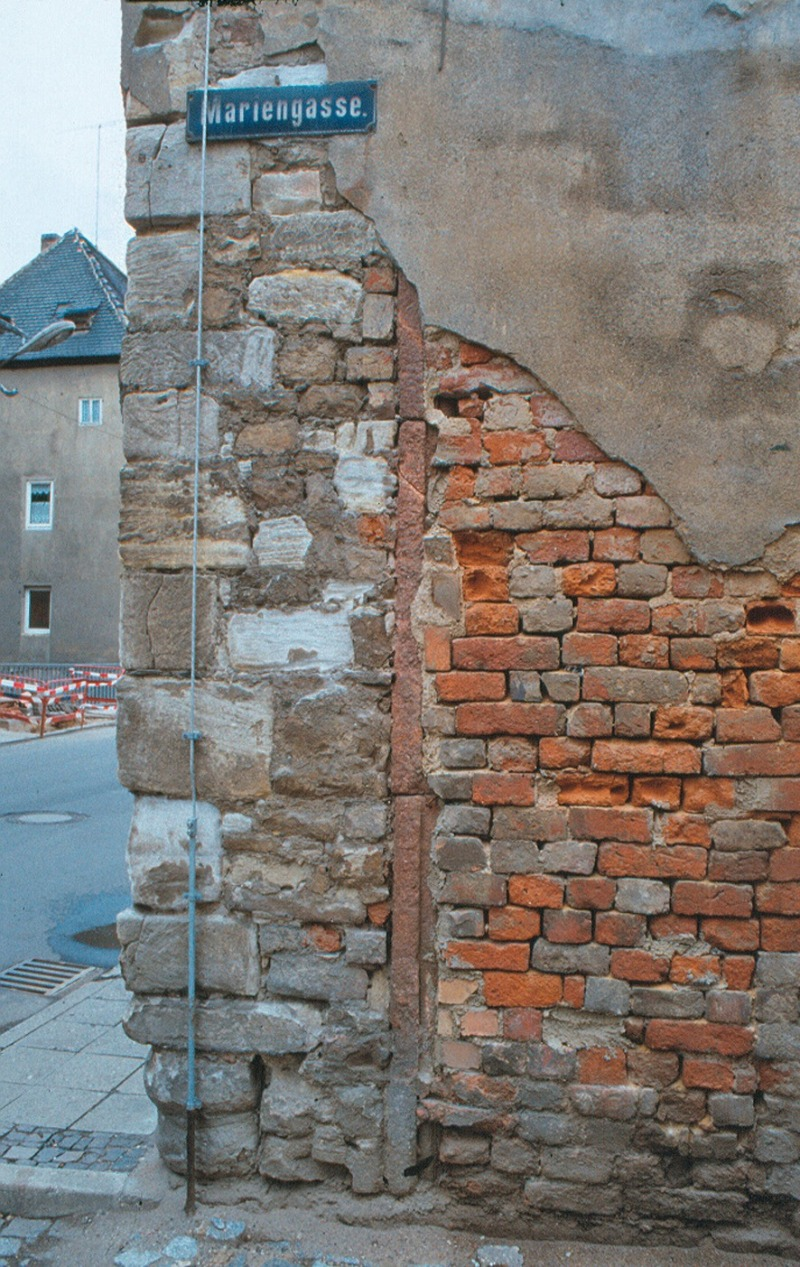 Hervorragend Wasser und Salz Typische Bauschäden an Außenwänden aus Mauerwerk VD12