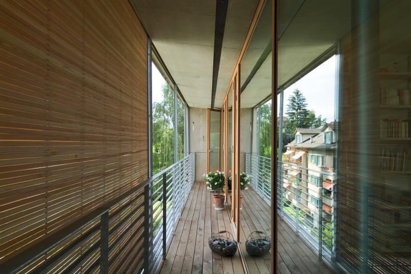 Prototyp aus Holz Das erste Mehrfamilien-Minergiehaus der Schweiz ...