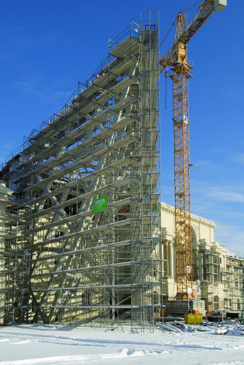 Rahmengerüst Umbau des Militärhistorischen Museums in Dresden ...
