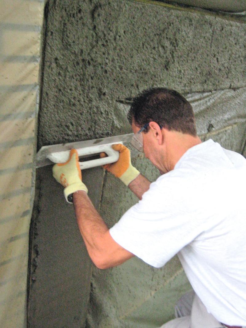 Betonspachtel Aussen instandsetzungsmörtel für die betonreparatur bauhandwerk