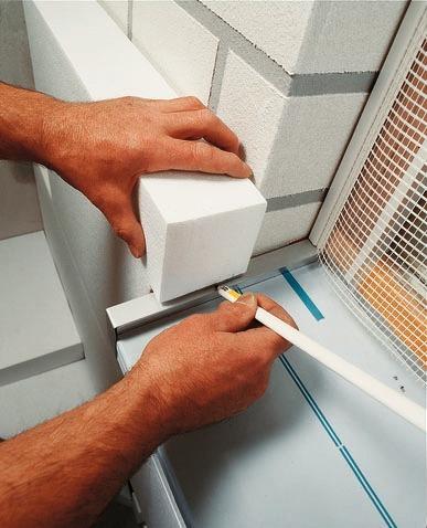 Fensterbänke an WDVS-Fassaden - Bauhandwerk